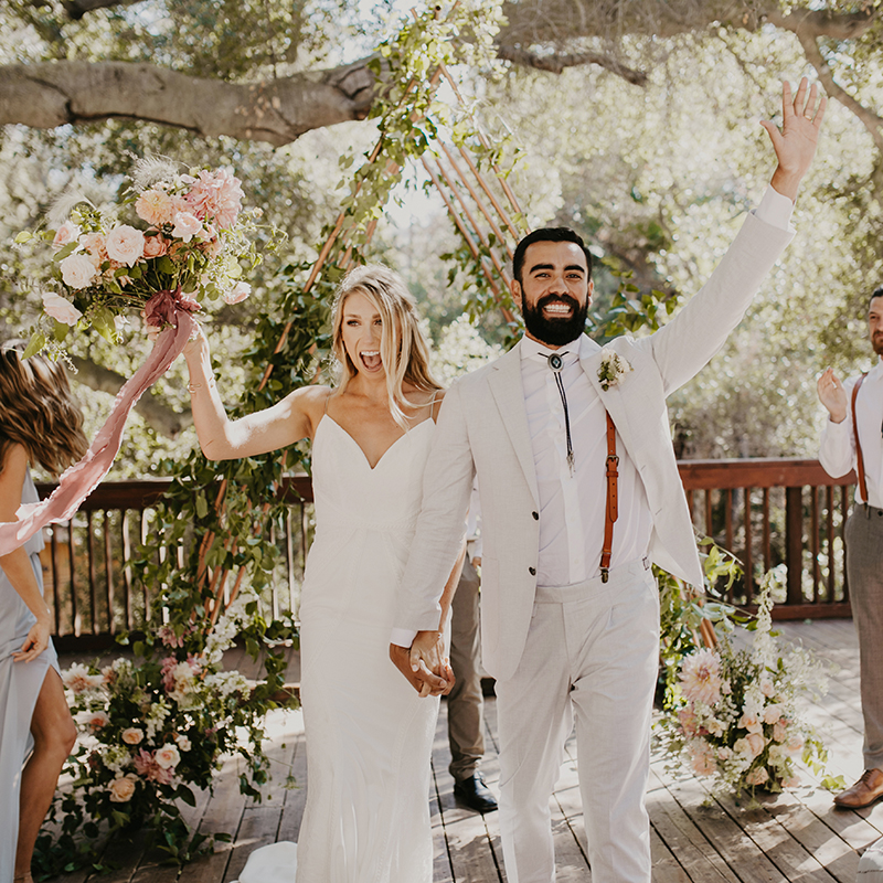 MICHAELA + BRANDON |  TOPANGA CANYON WEDDING