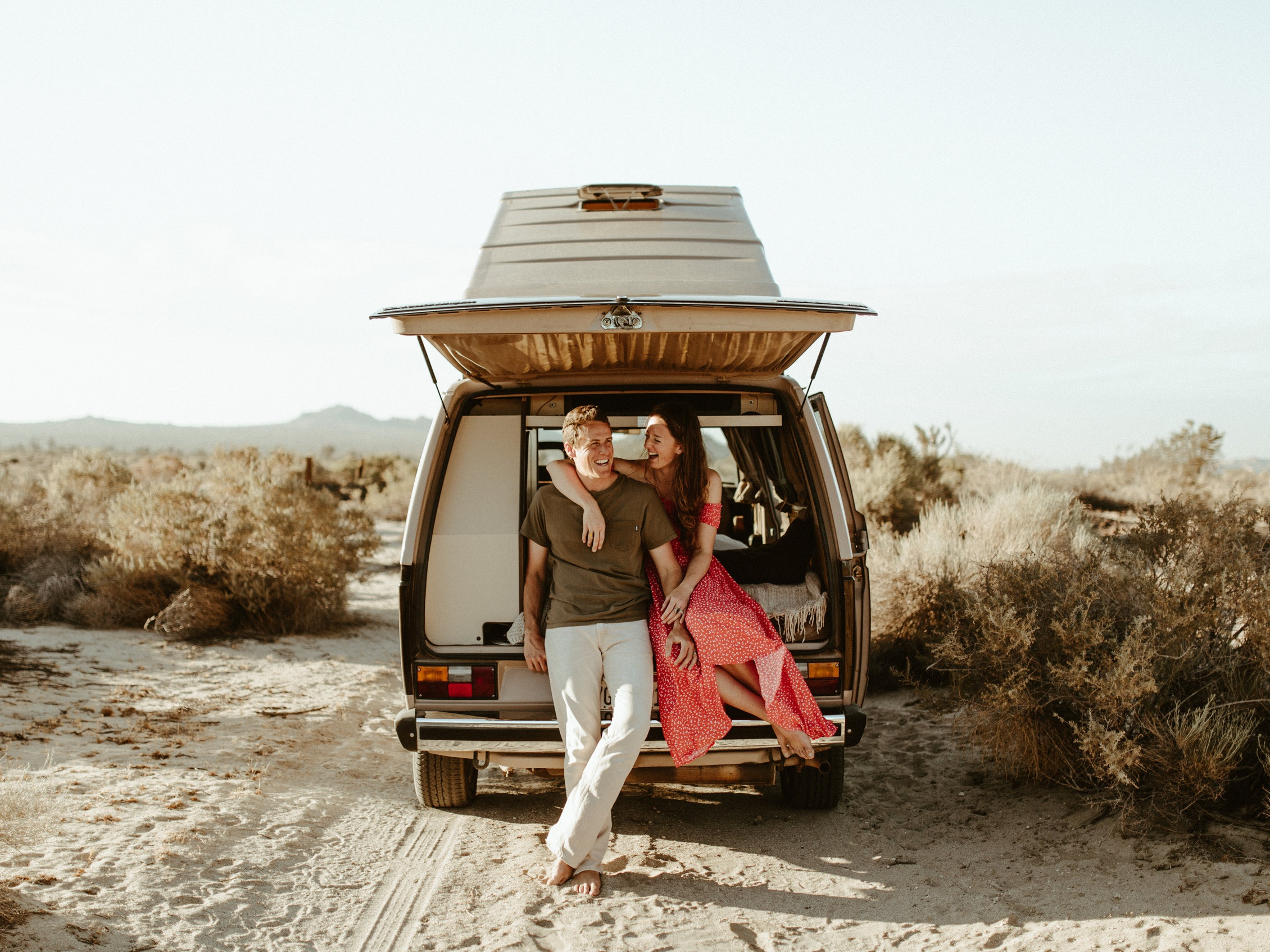 Anniversary Session in the Desert -