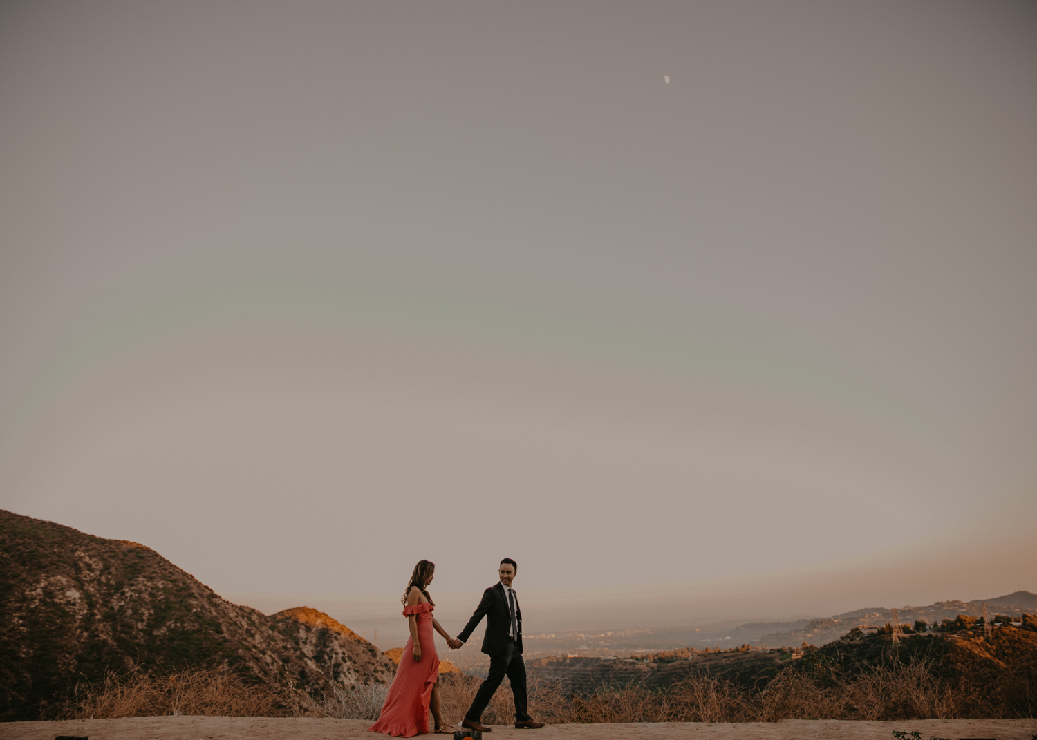 view of los angeles photography engagement.jpg