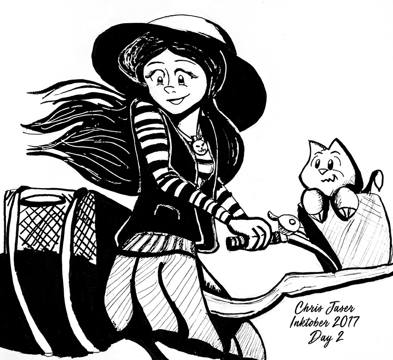Inktober 2 Urban Witch.png