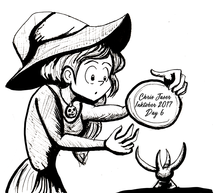 Inktober 6 Oracle Witch.png