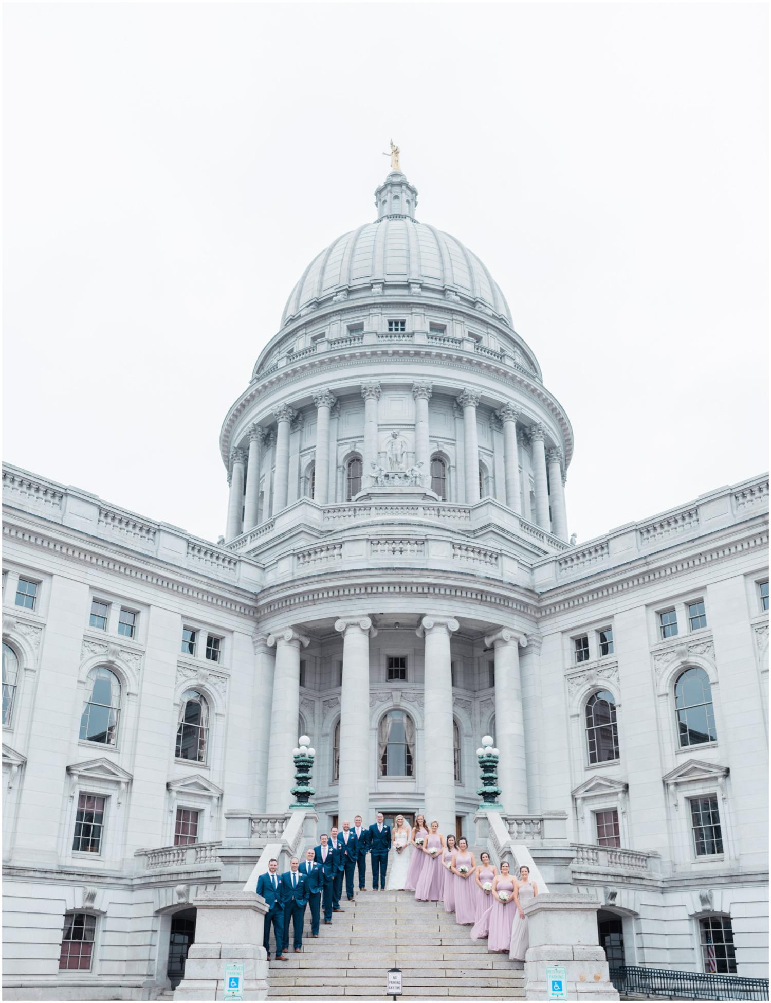 Madison Wisconsin Capitol Wedding