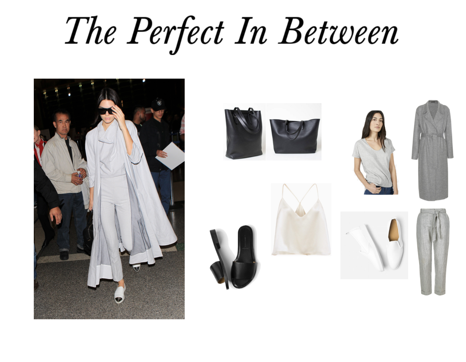 The Perfect In Between Airport Outfit