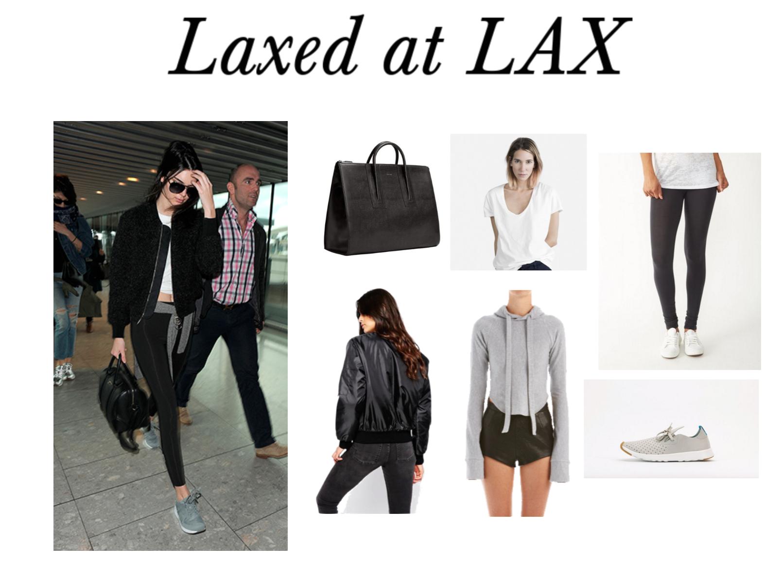 Laxed at LAX
