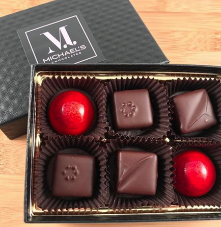 Sample holiday chocolates from  Michael's Chocolates , recently nominated as a Confections Finalist at the  2018 Good Food Awards . This should be extra sweet!  Read more  ...