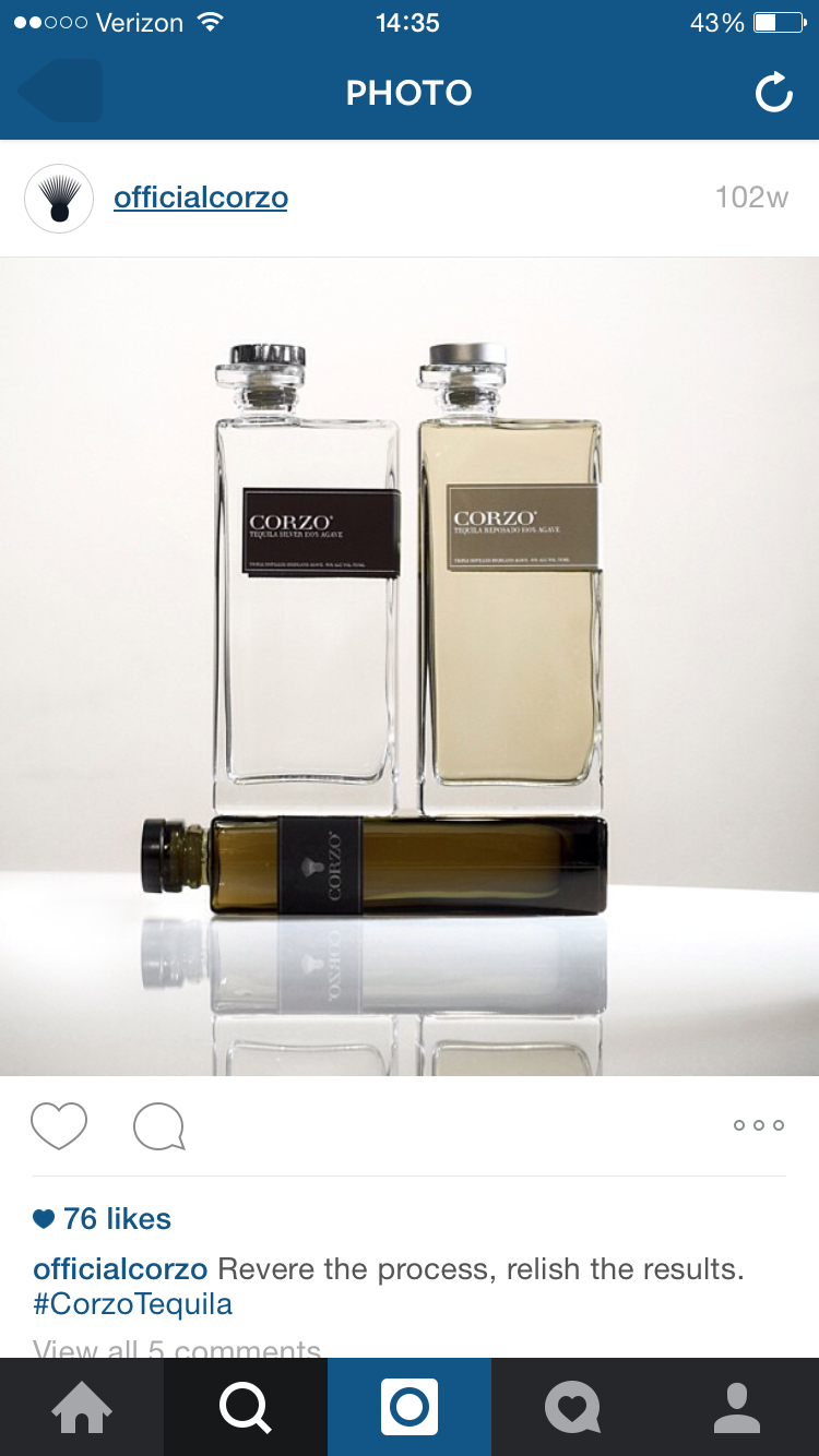 Shot at The 88 for Corzo Tequila