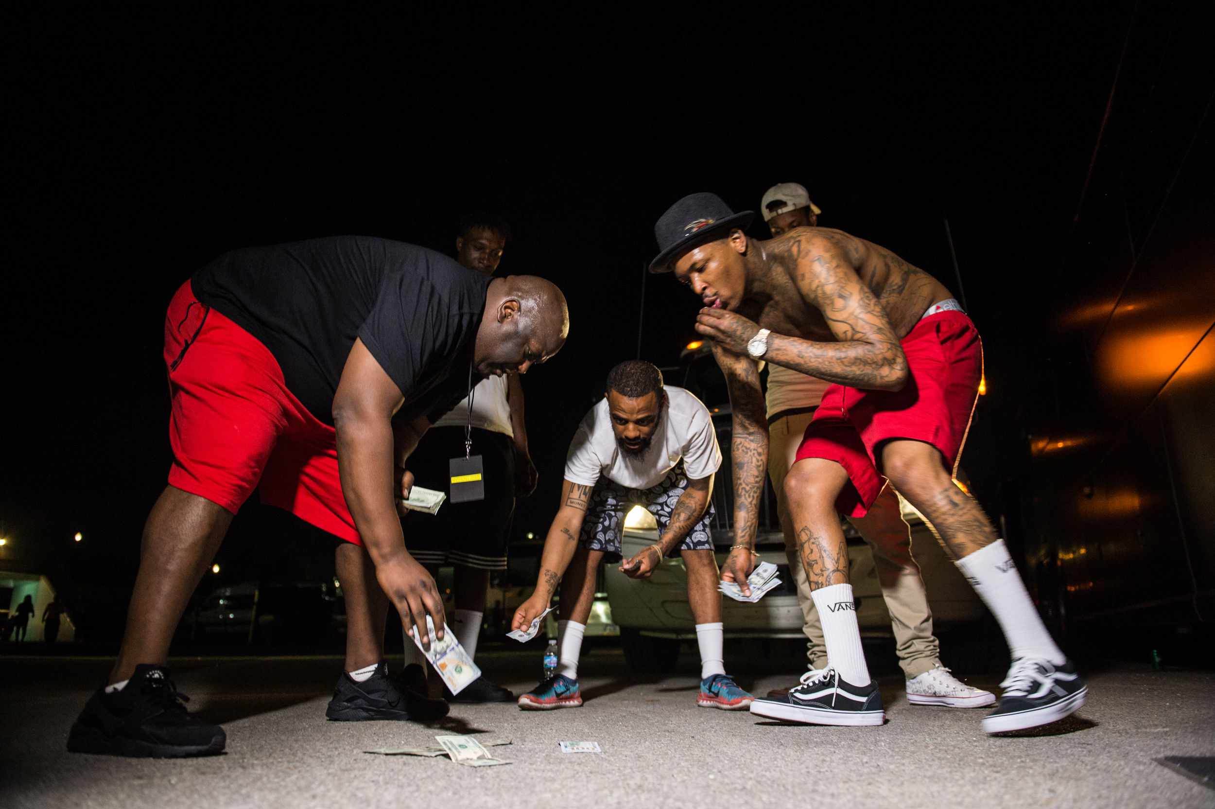 YG and CMG shooting dice in Indiana
