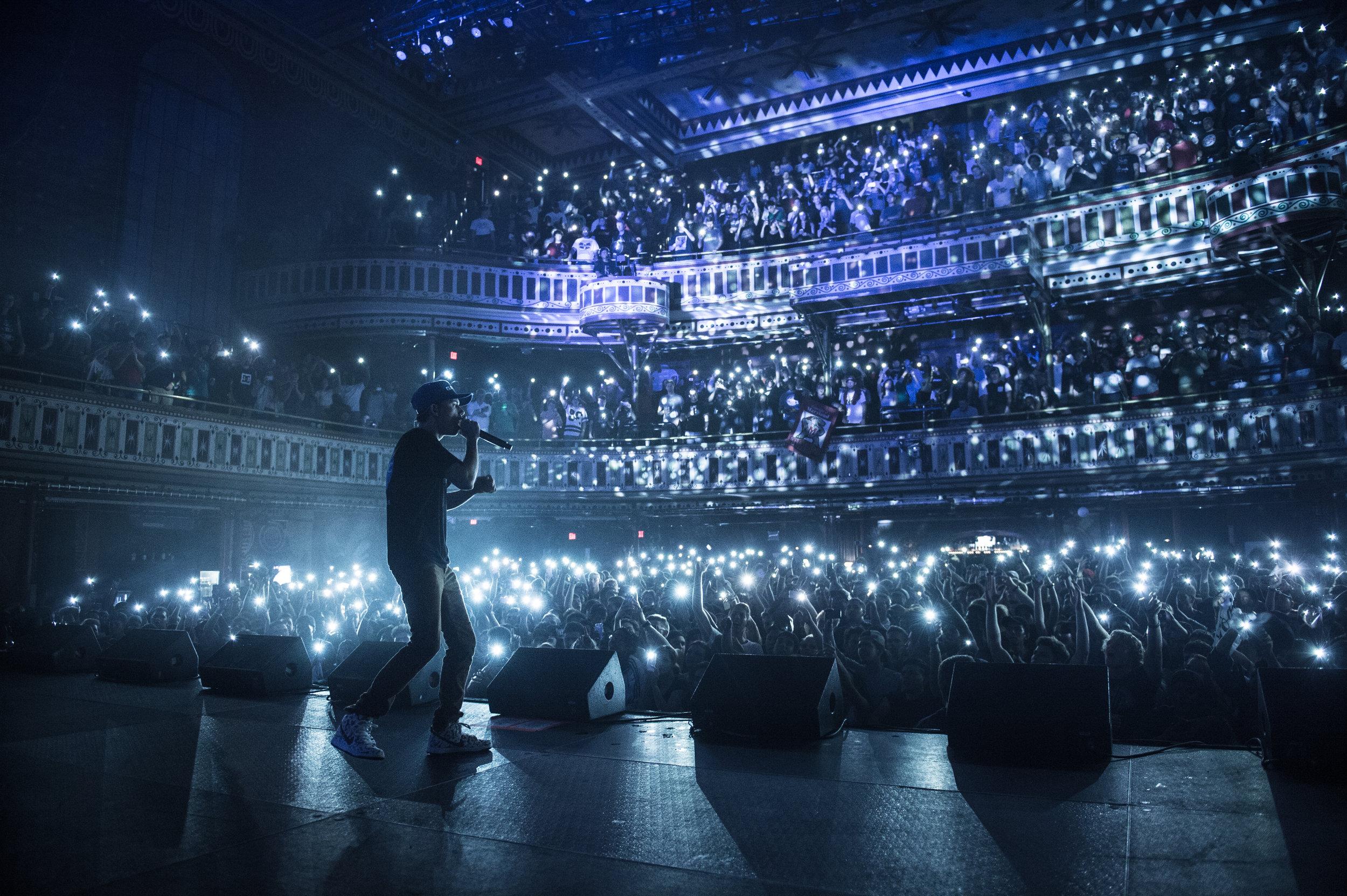 Logic performing at The Tabernacle in Atlanta, GA