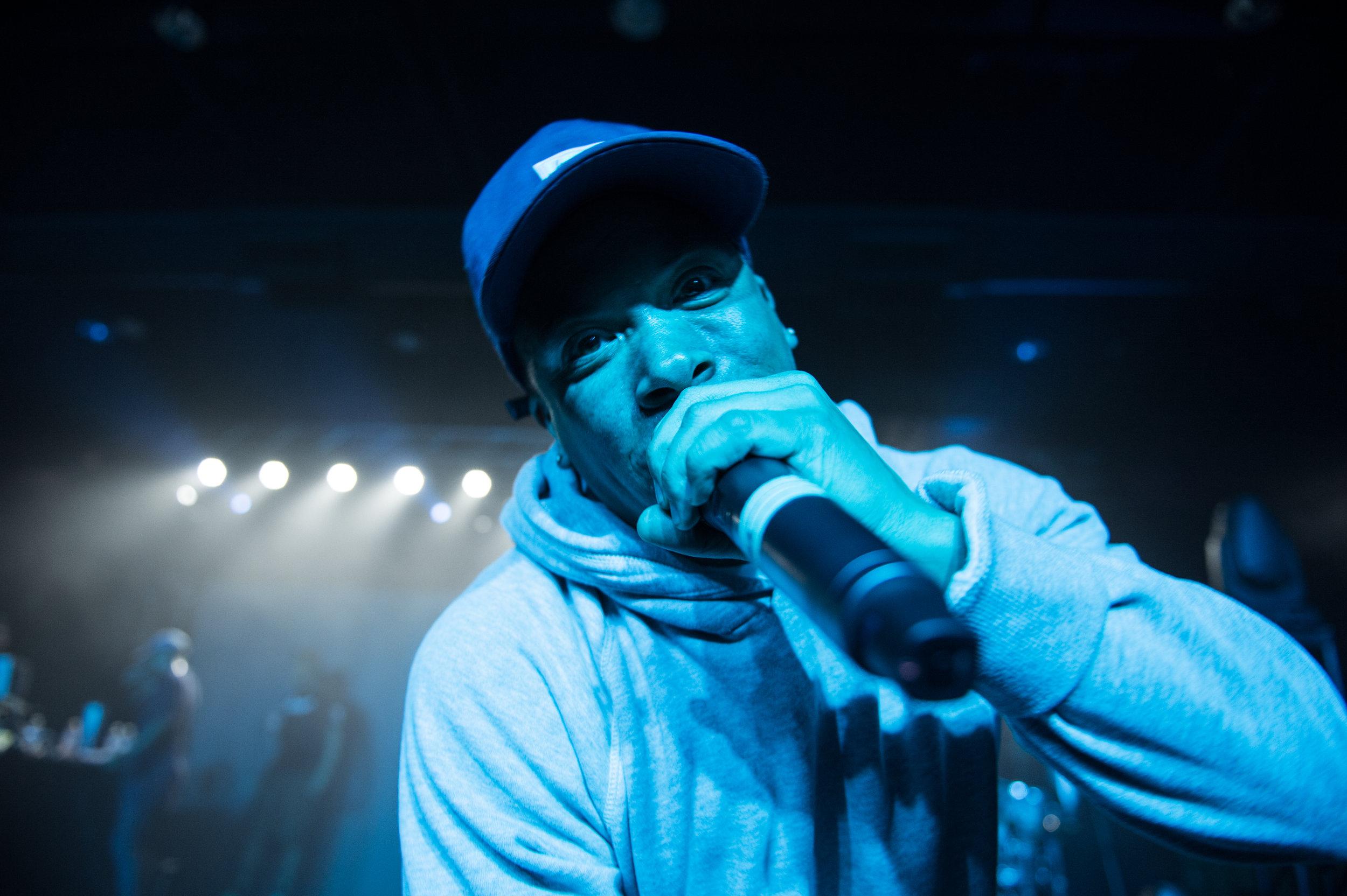 Demerick performing