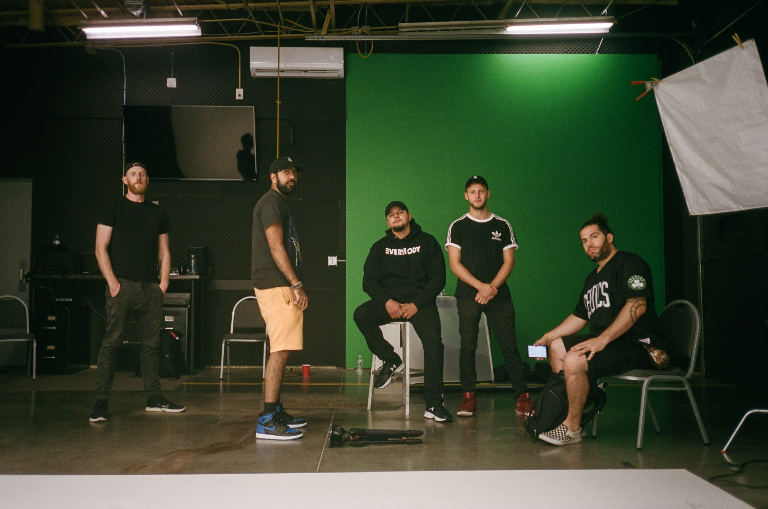 BTS from a spot shoot we had for Logic's 1-800 music video