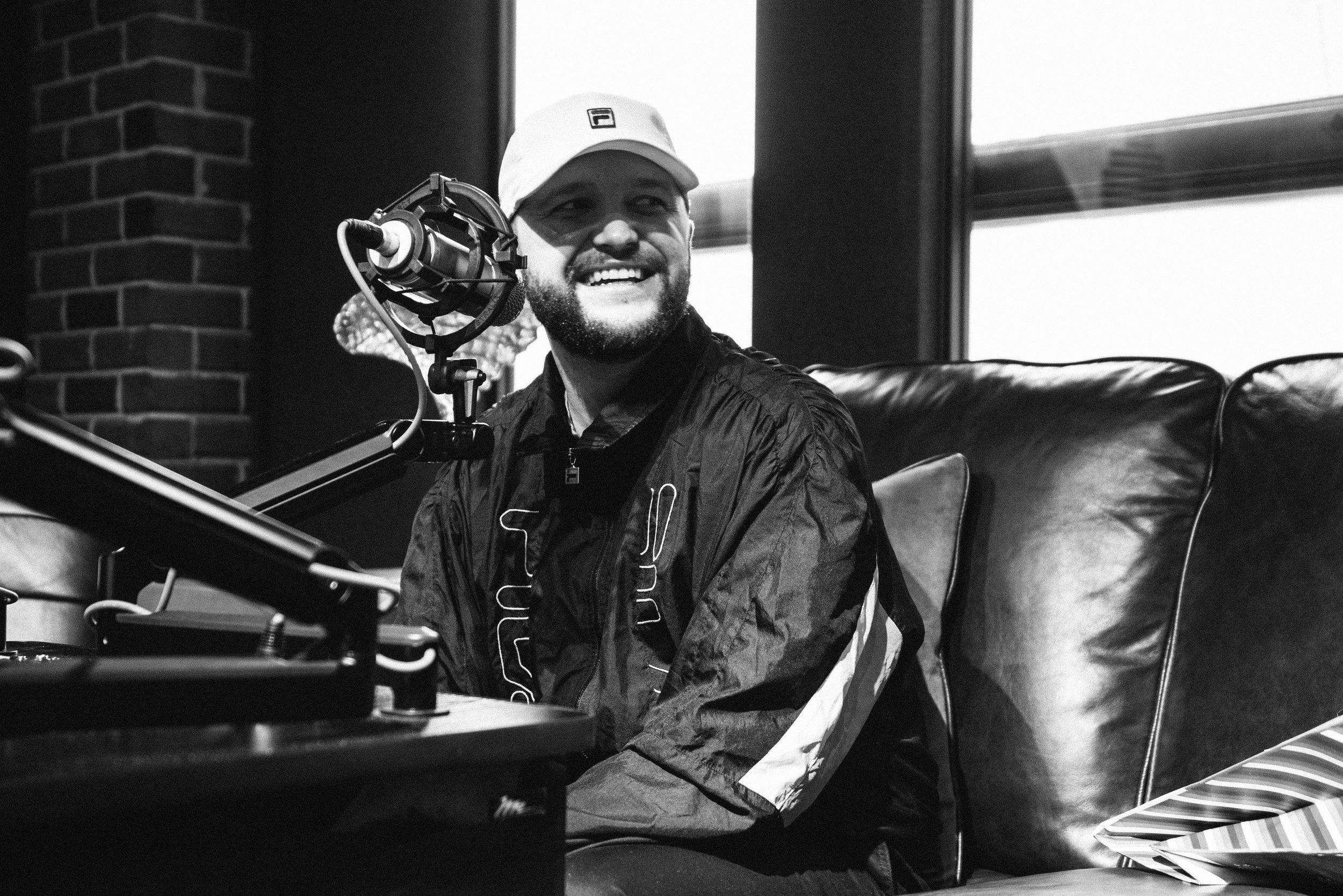 Detroit radio interview, 2018