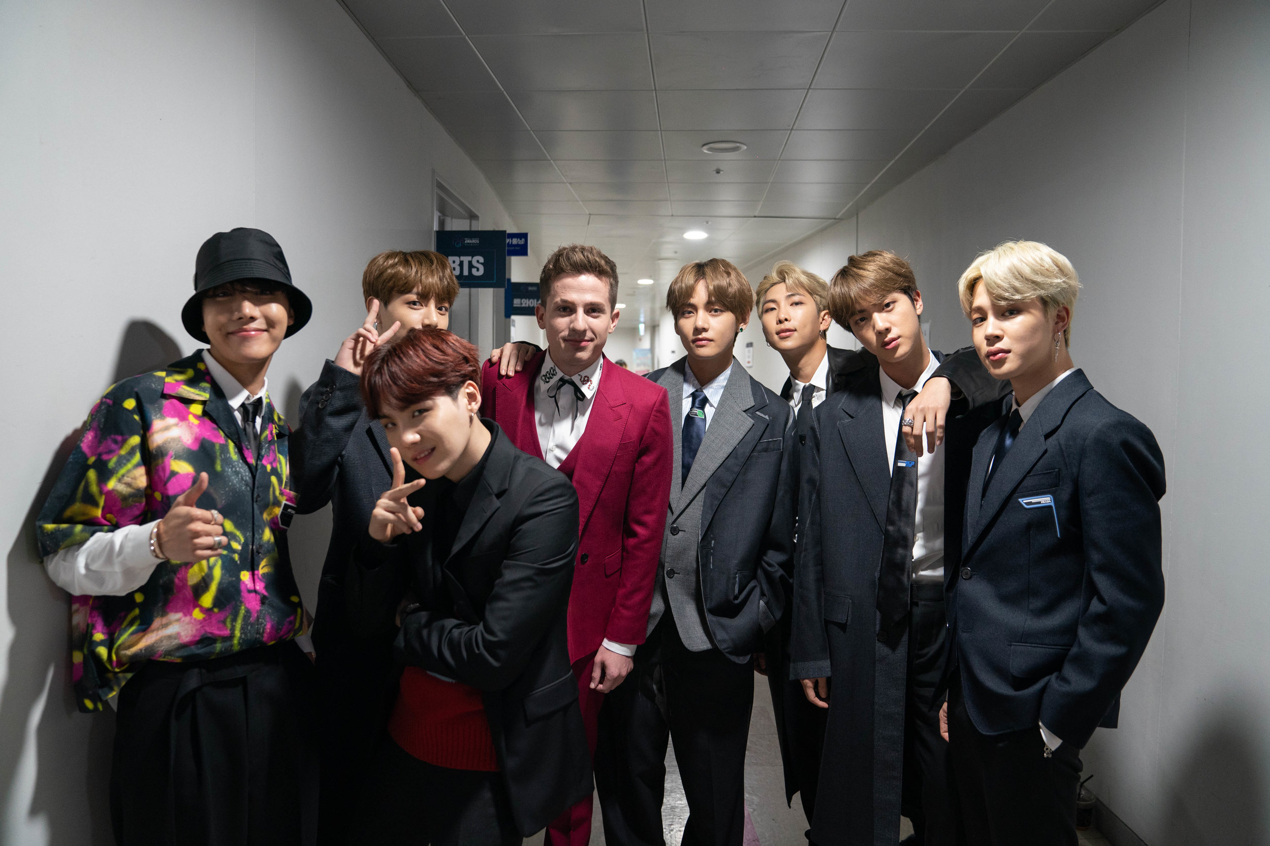 Charlie and BTS, 2018