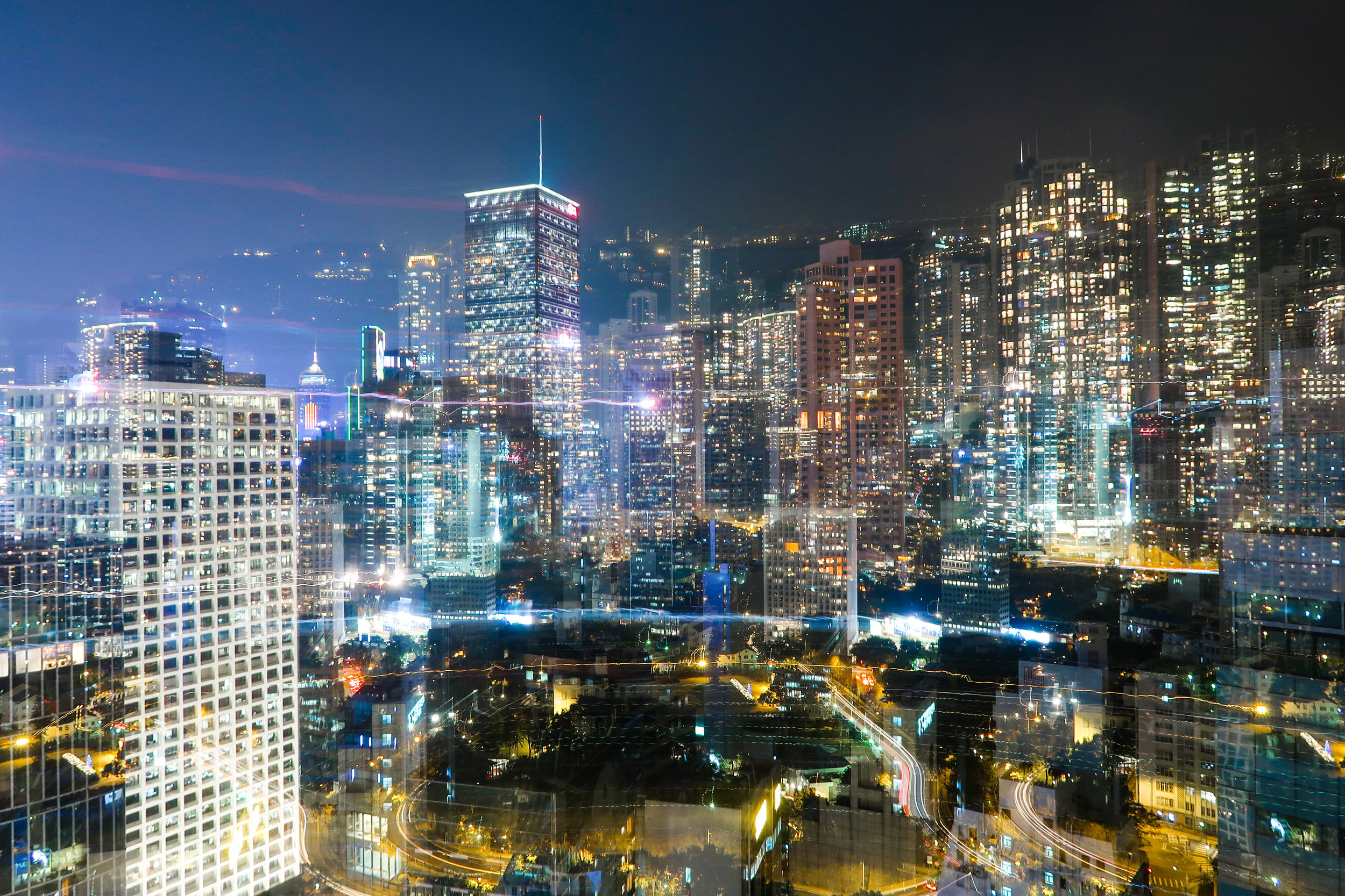 Hong Kong at Night, 2017