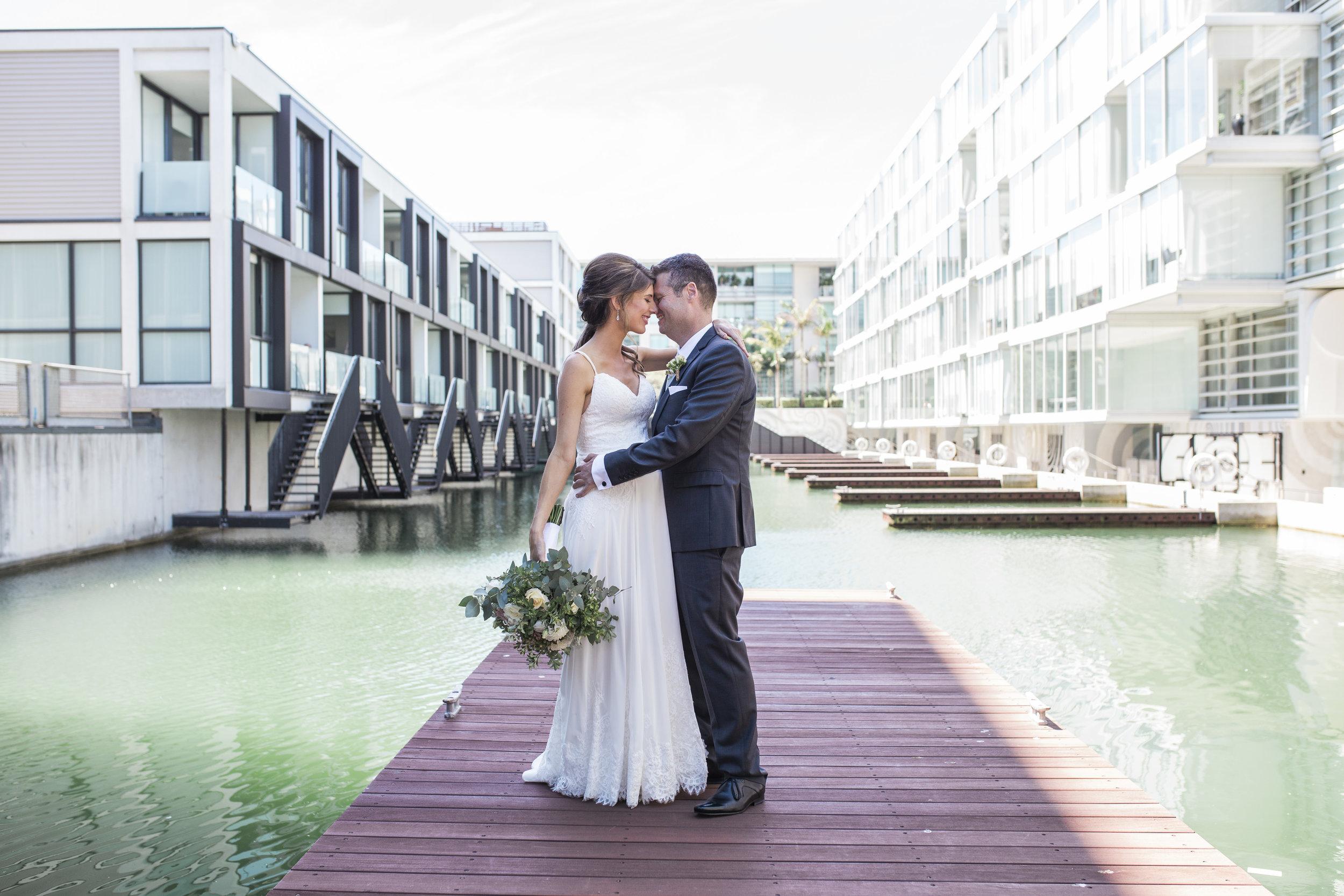 Sofitel Auckland wedding photo
