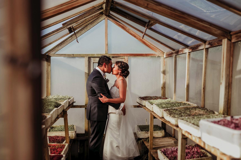 Mudbrick wedding photo