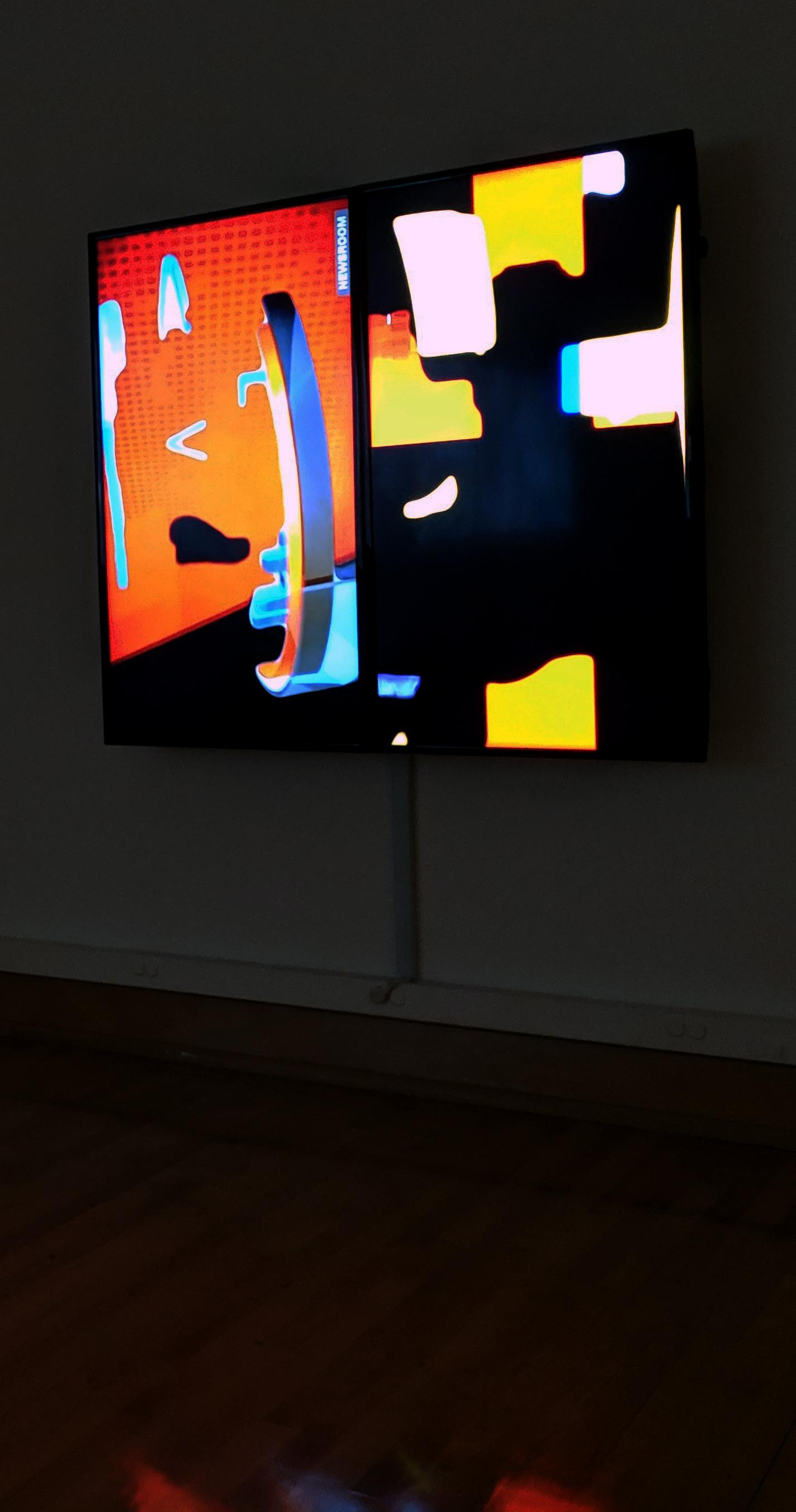 Breaking (Slow News) , 2019, Installation view, Wasmer Gallery, FGCU