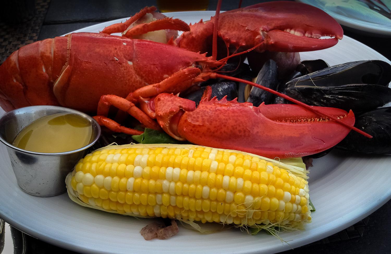 Fresh lobster everywhere