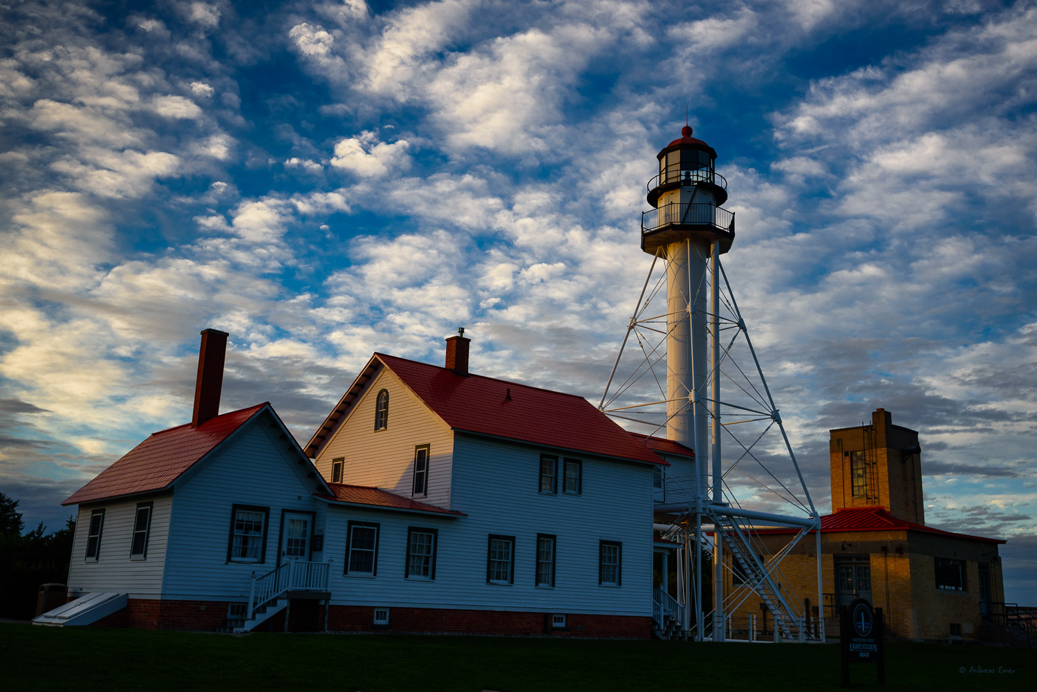 Whitefish Point Light, Lake Superior, Michigan