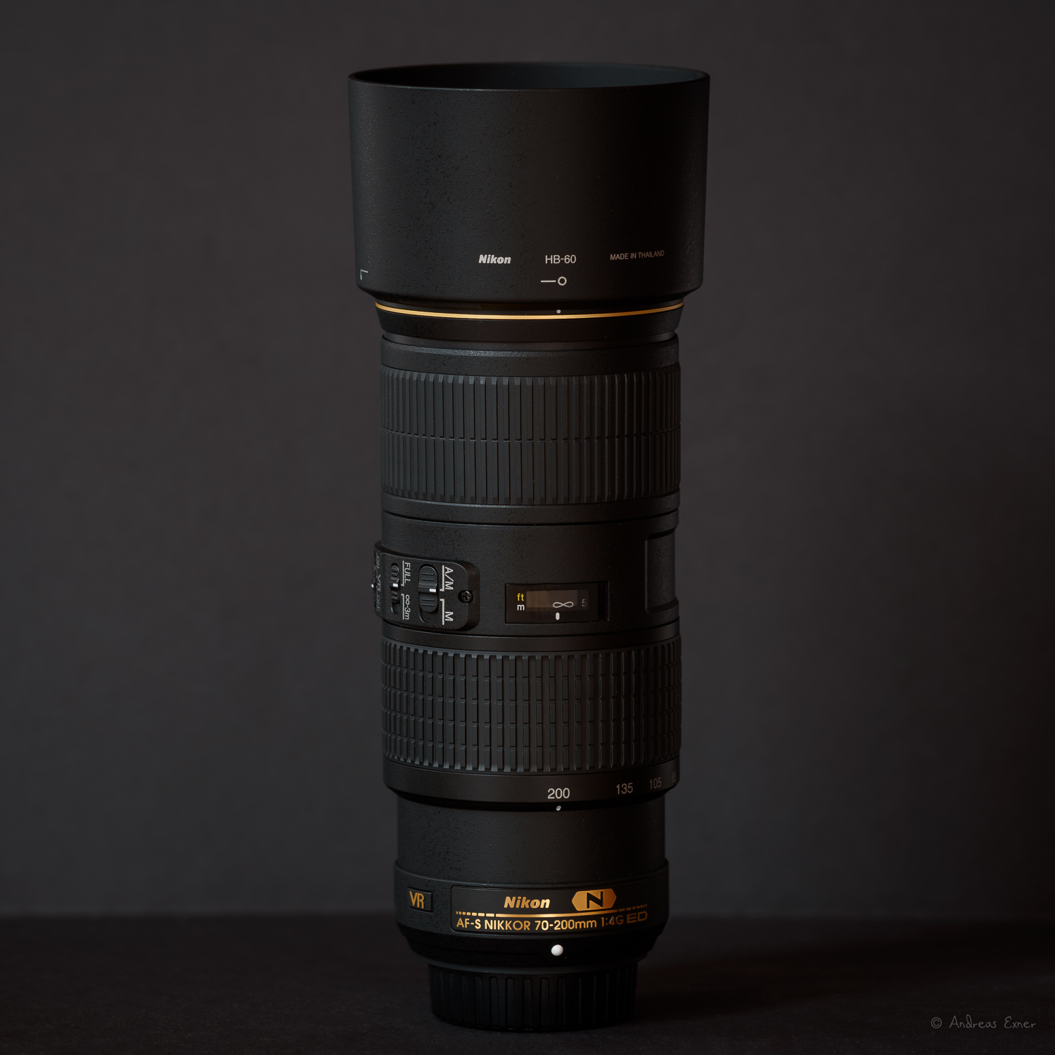 Nikon AF-S Nikkor 70-200mm, f/4G ED VR  I have acquired this lens mainly for my landscape photography but its light weight makes it very versatile and I started using it for wildlife as well. Sharp and fast focus.  ★ ★ ★ ★ ★