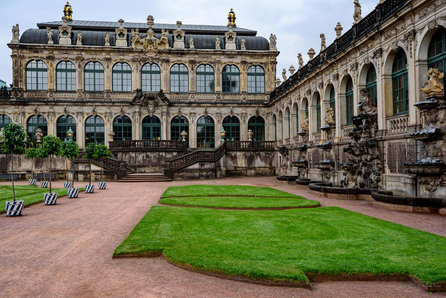 The Zwinger, Dresden / Saxony / Germany
