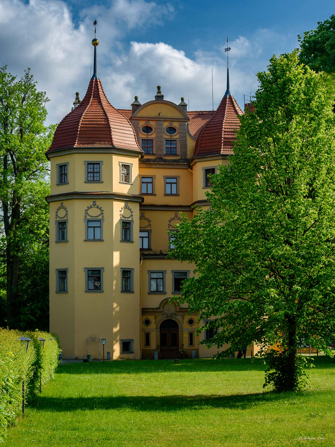 Althörnitz castle hotel, Saxony, Germany