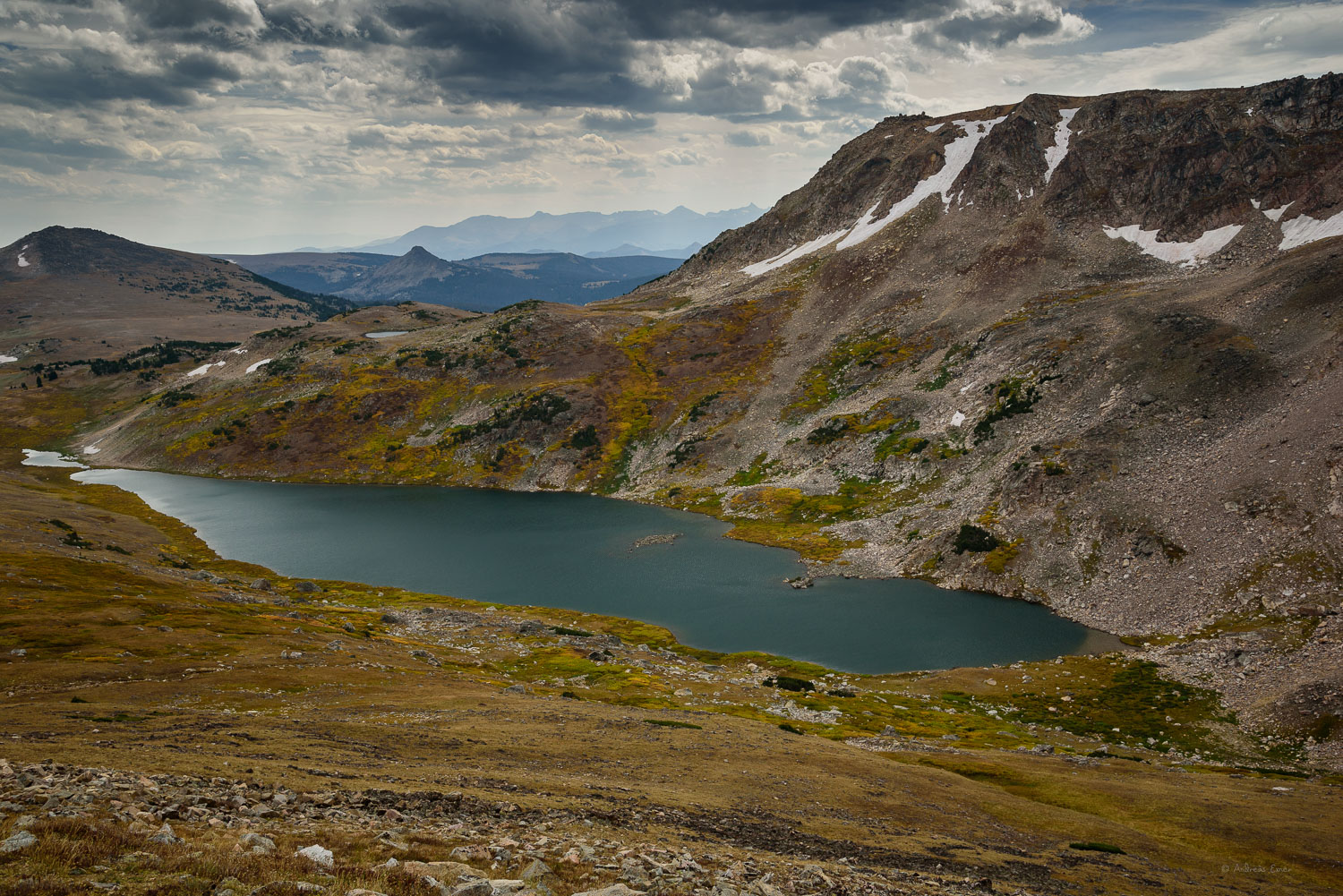 Overlook at Beartooth Pass (3,347 m / 10,947 ft)