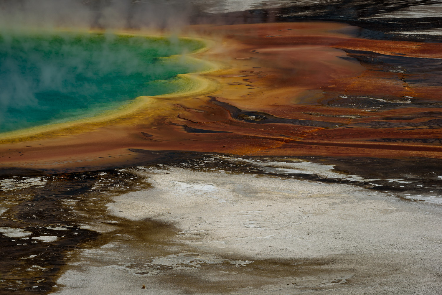 Grand Prismatic Spring, Yellowstone National Park, Wyoming, @ 200 mm