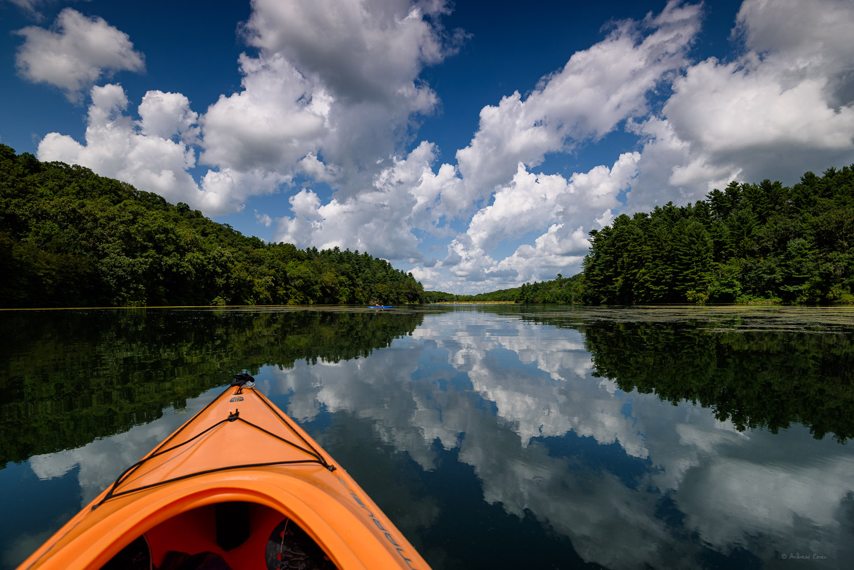Cox Hollow Lake, Governor Dodge State Park, Wisconsin, Nikon D750, Nikkor 16-35mm / f4, Breakthrough GND filter 0.6