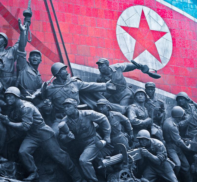 War memorial in Pyongyang