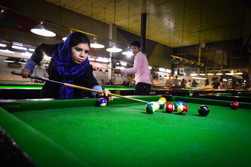 Breaking no women allowed rules in Tehran