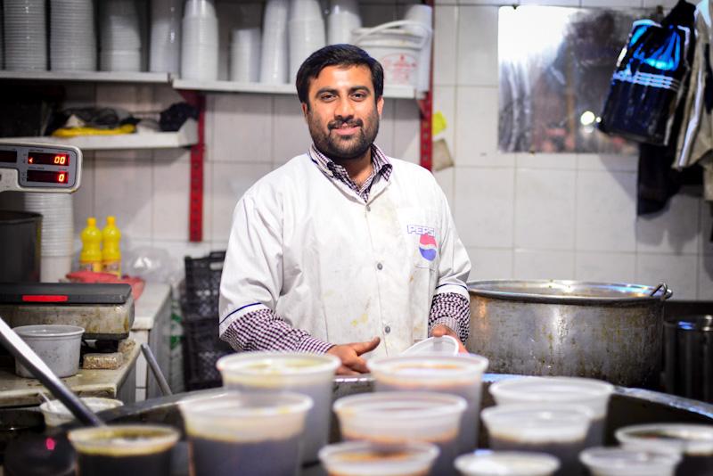 Soup Nazi, Shiraz