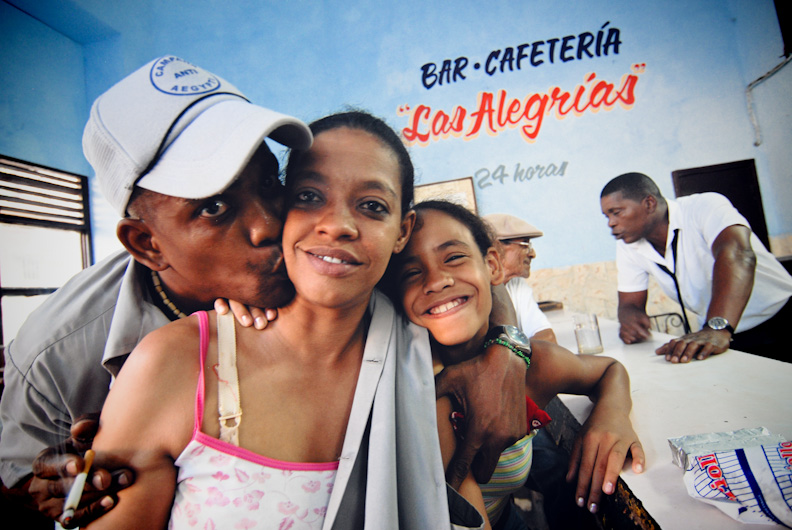 One happy family in Havana