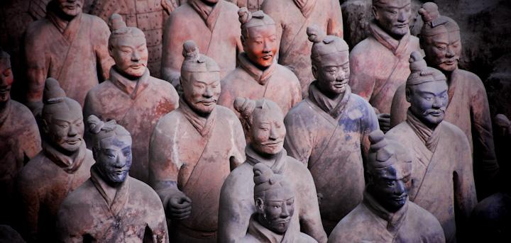 Terracota Soldiers, Xian