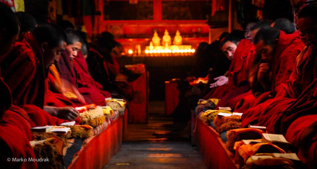 Ganden Monastery monks