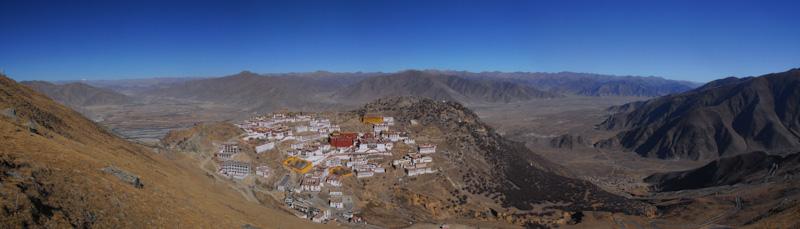 Ganden Monastery, Tibet.