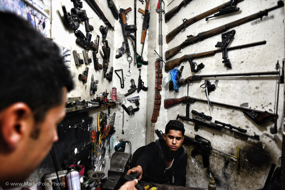 Gun'r'us in Erbil