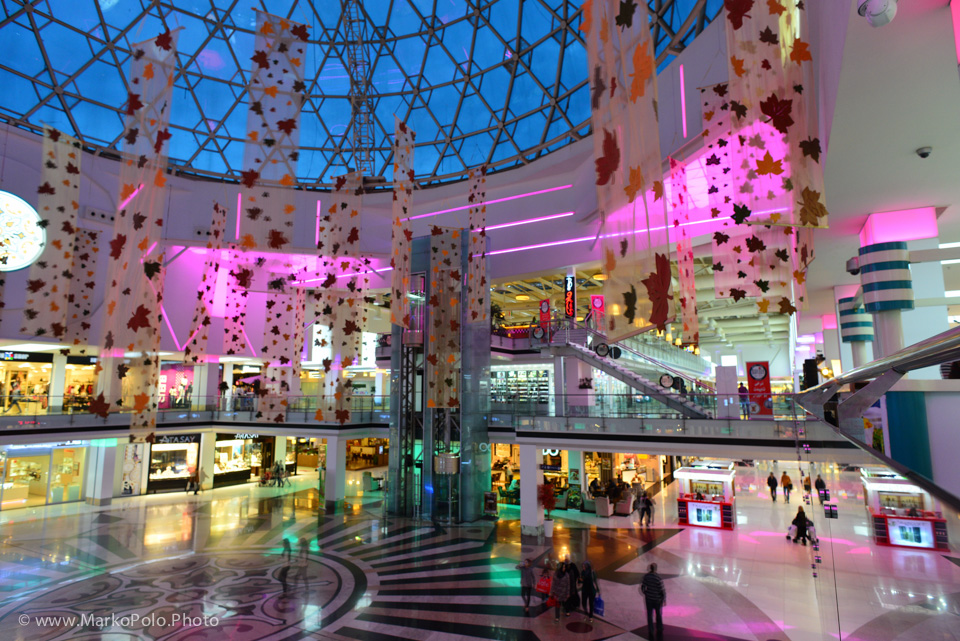 There are more than bazaars to buy stuff...Suleymaniyah mall