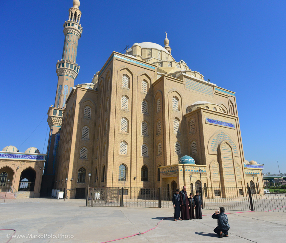 Jalil Khayat Mosque in Erbil