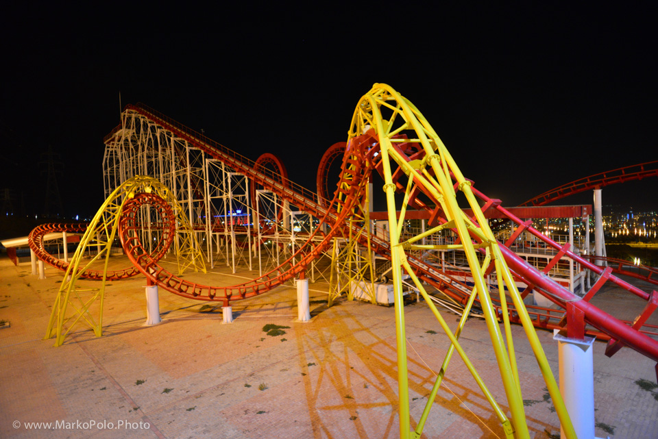 The one thing Iraqi love are American roller coasters!
