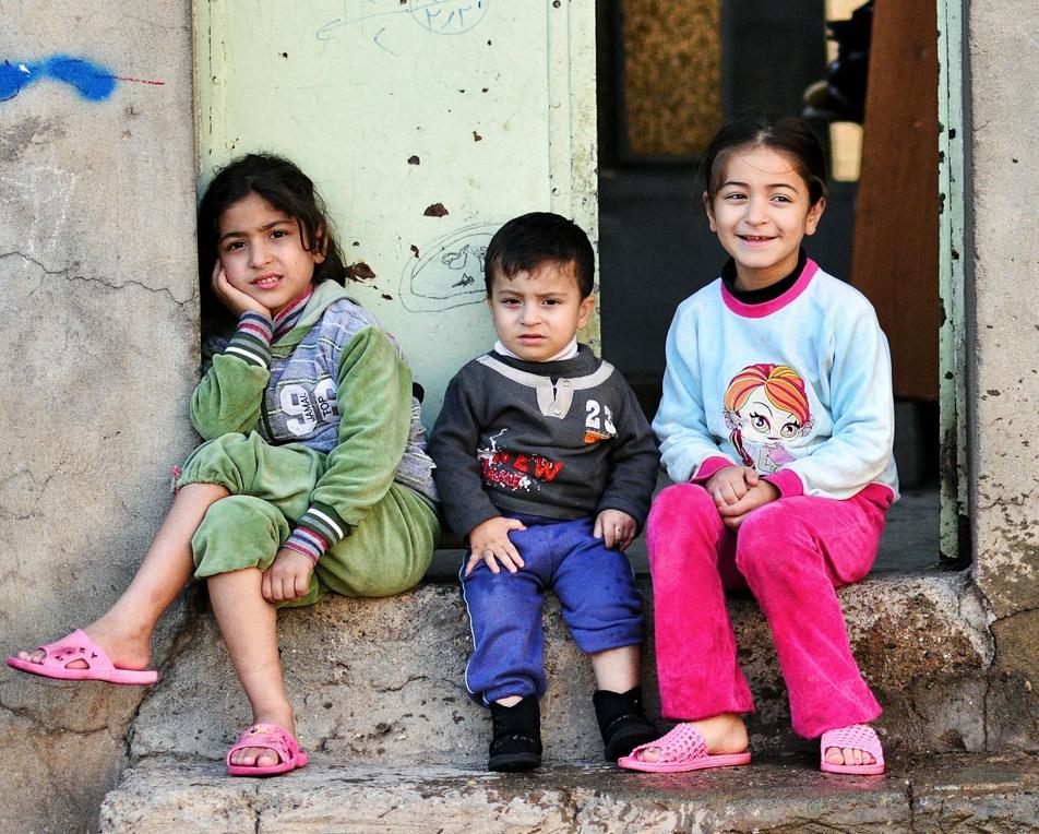 Beautiful kids in Erbil