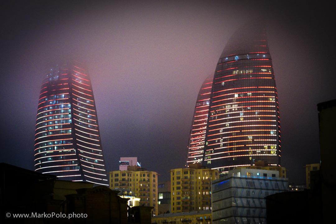 Azerbaijan (3) - Flame Towers in Baku