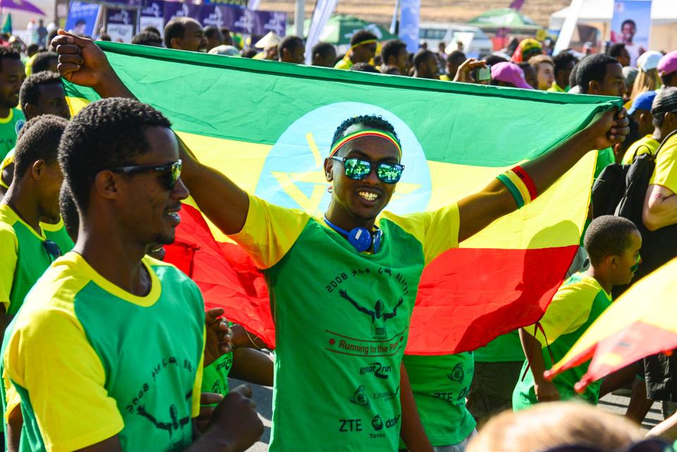 Ethiopia (1) - The Great Run marathon in Addis