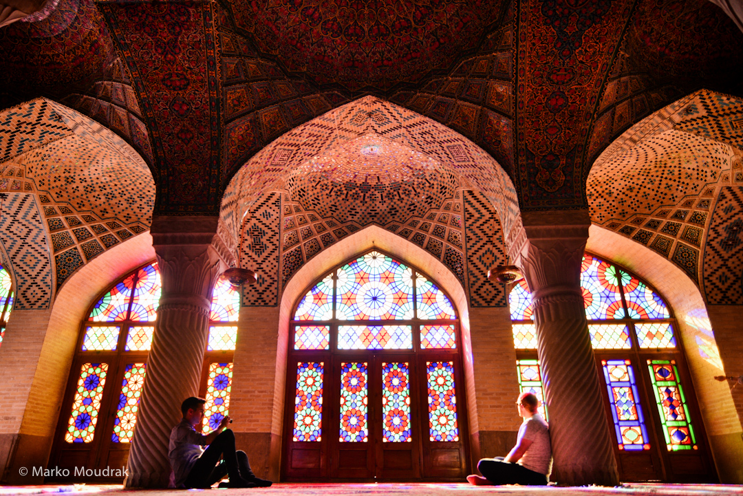Iran (14) - Beautiful Nasir ol-Molk Mosque in Shiraz