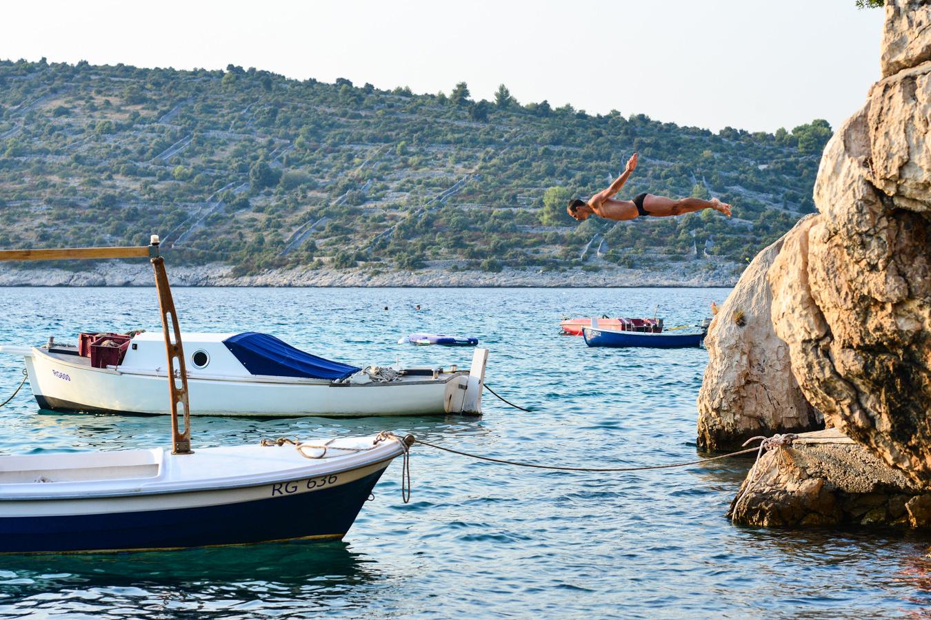 Crotia (3) - Diving into Adriatic Sea