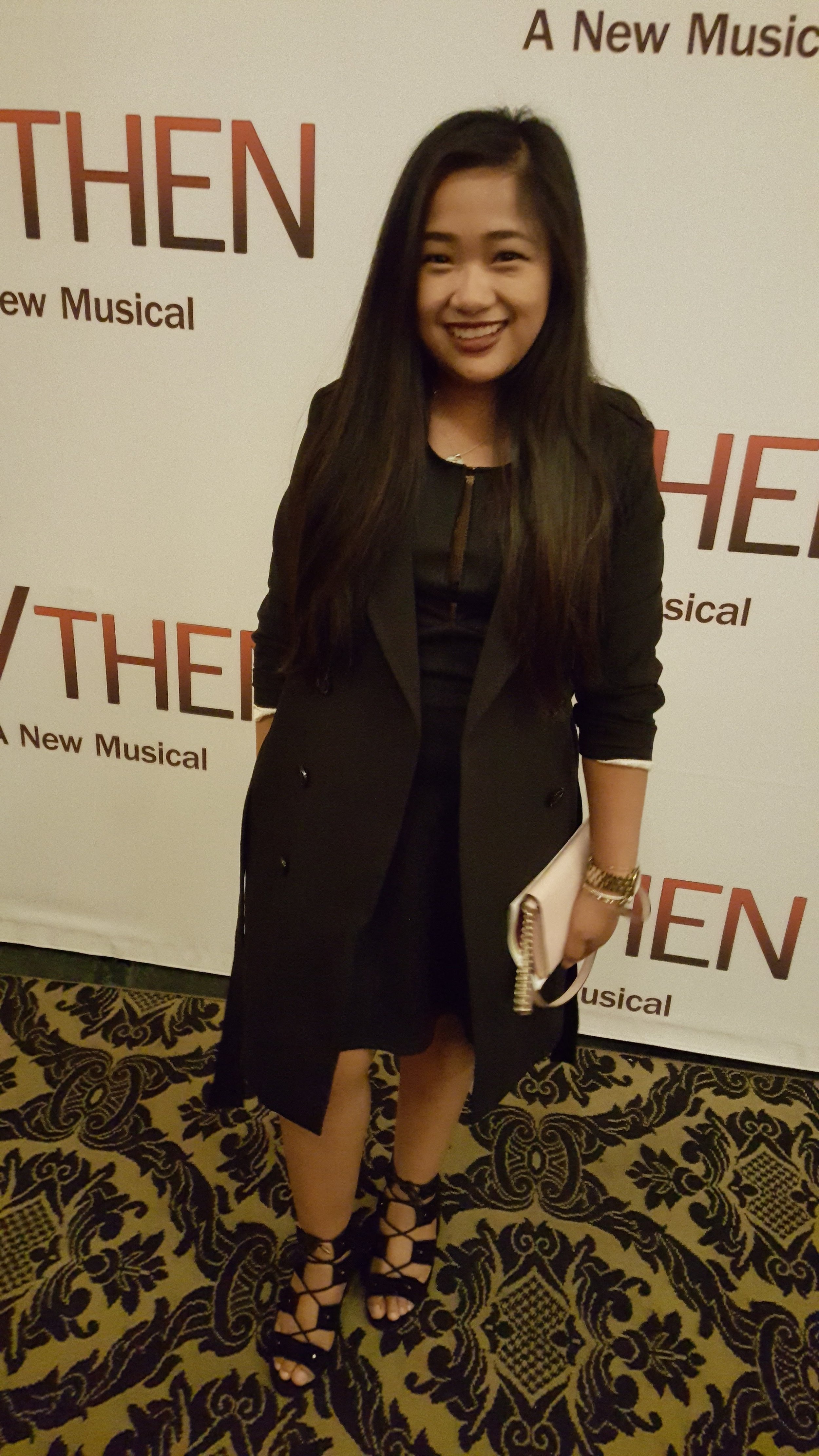 if then boston opera house all black outfit