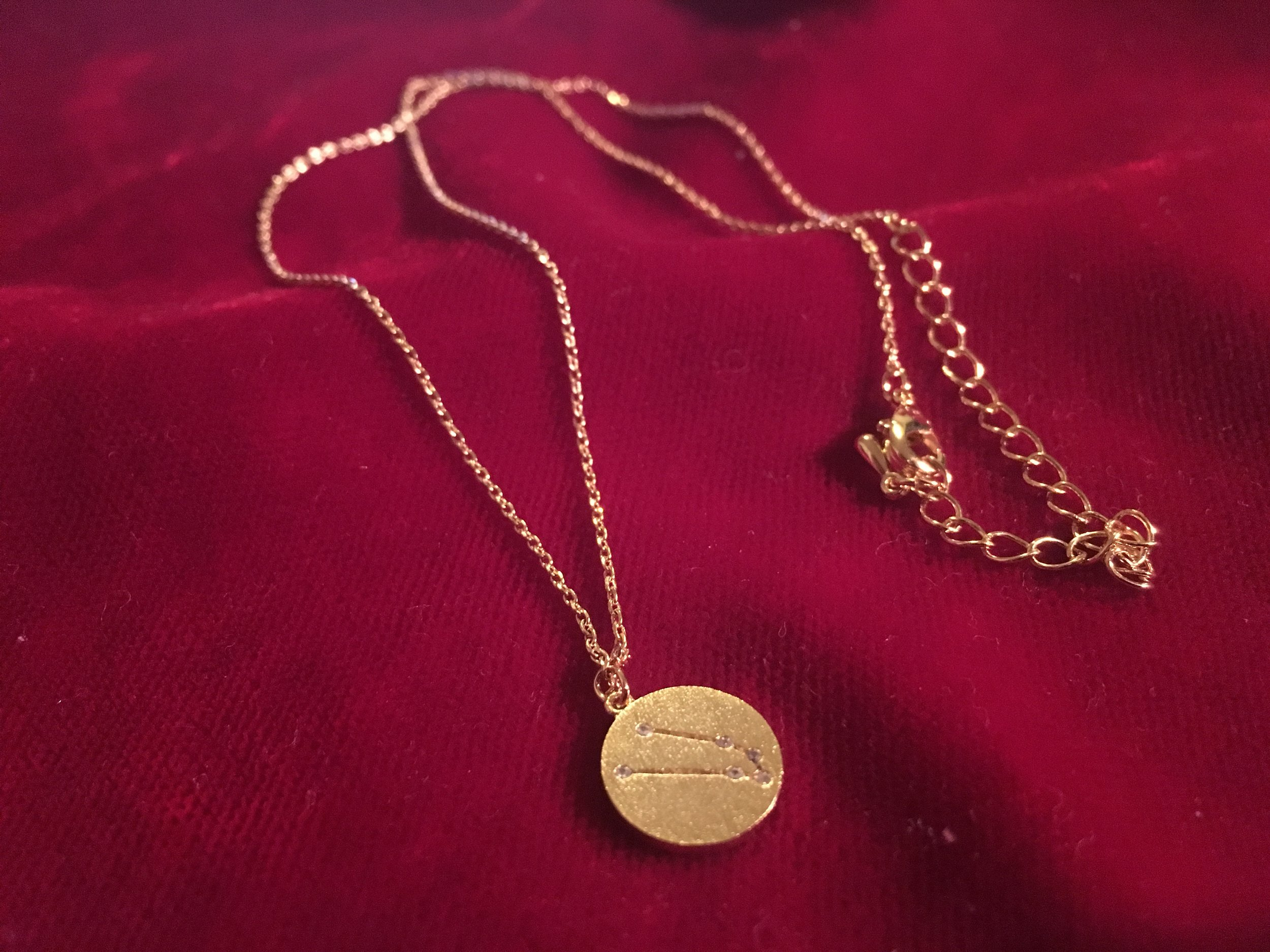 constellation necklace taurus anarchy street this is yna