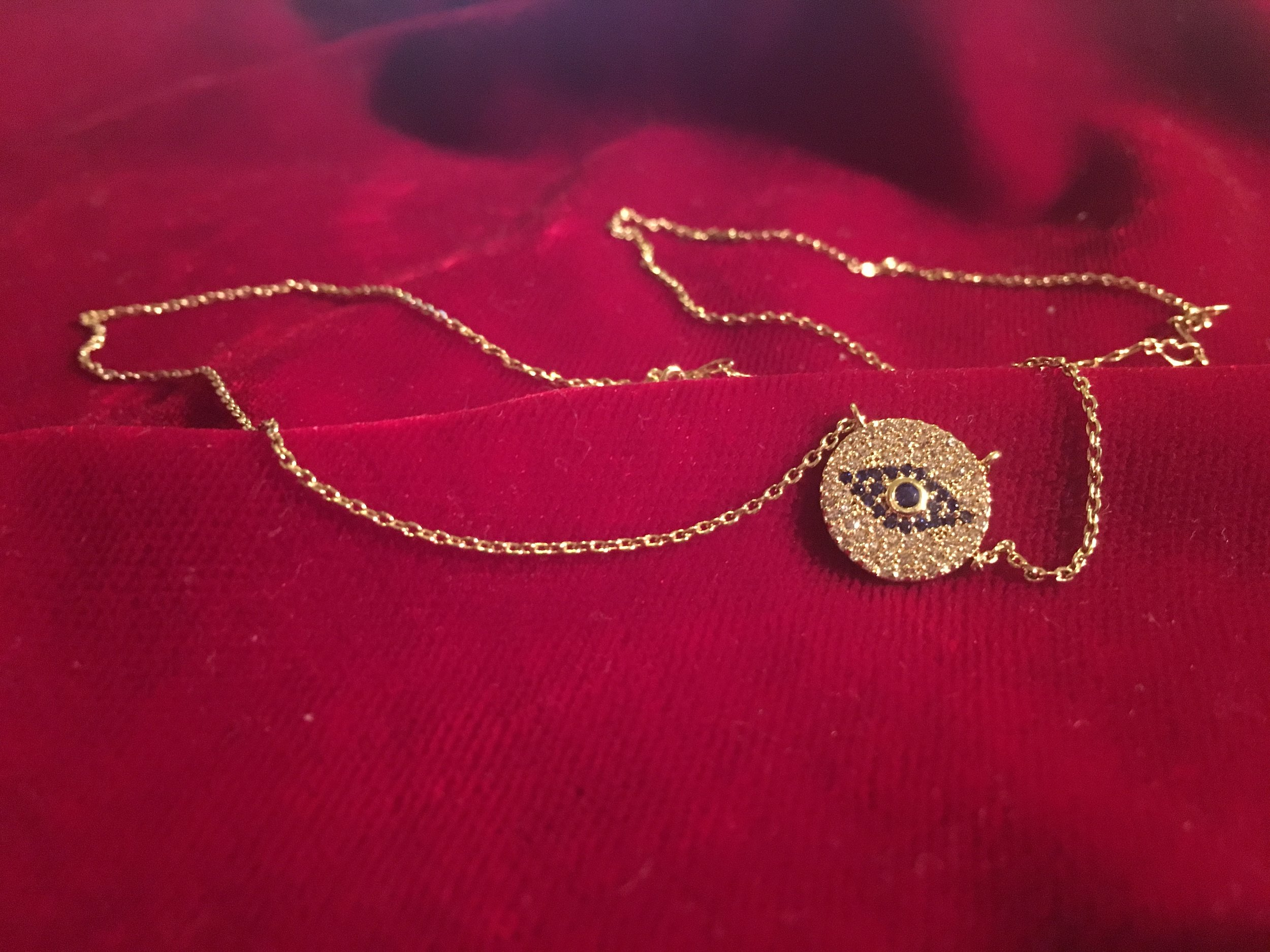 evil eye necklace anarchy street this is yna