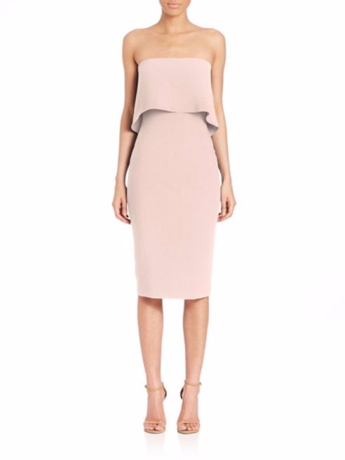LIKELEY Driggs Strapless Dress -