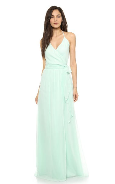 Joanna August DC Halter Wrap Dress -