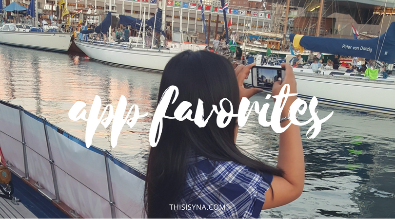 APP FAVORITES ON THISISYNA.COM | THIS IS YNA